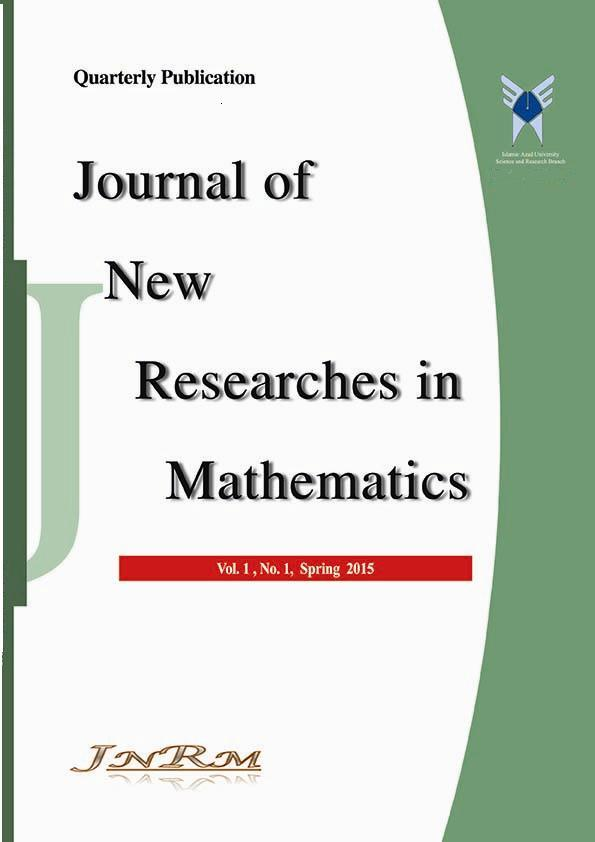 Journal of New Researches in Mathematics